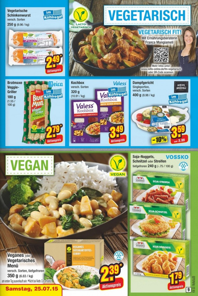 Netto-vegetarisch-vegan