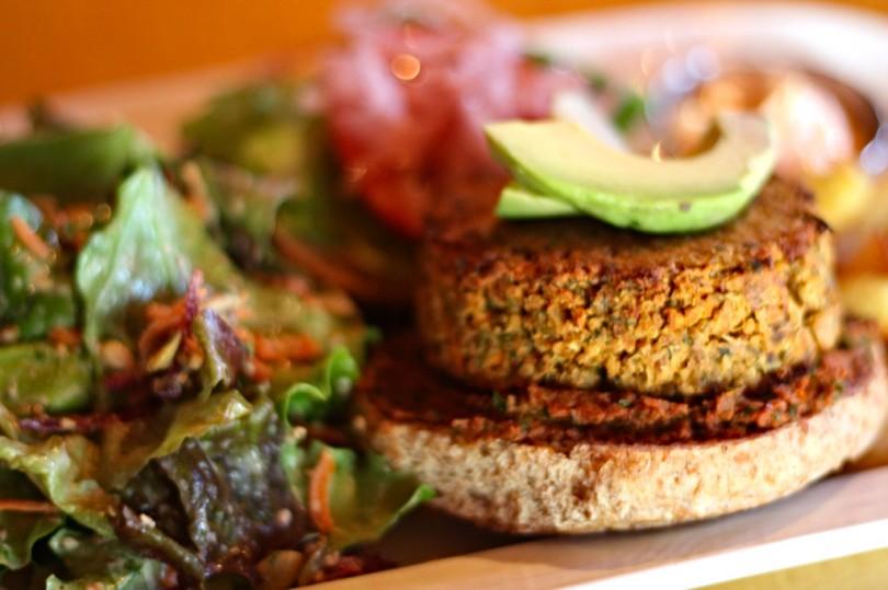 Veggie Burger_vegetarisch_vegan