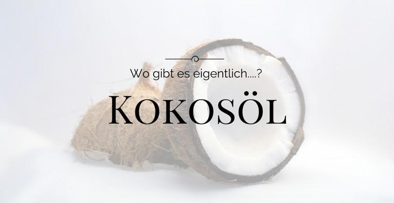 Kokosöl - Kokosfett