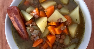 Linseneintopf - vegan - vegetarisch