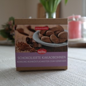 Keimling Schokolierte Kakaobohnen
