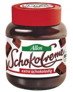 veganes nutella Allos Schokocreme